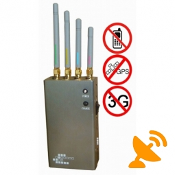 Mobile Phone + GPS Signal Jammer Blocker Portable