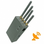 High Power Portable Cell Phone Signal Jammer Blocker