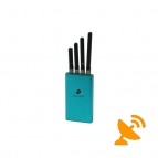 Medium Power Portable Cell Phone Jammer GSM 3G CDMA DCS