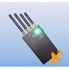 2W 4 Band Mobile Phone + Wifi Signal Jammer Blocker