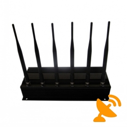 Advanced High Power Cellular Phone + GPS + Wifi Jammer