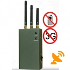 Cellular Phone Signal Jammer Blocker Portable