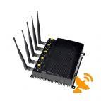 Adjustable Cell Phone GPS Wifi Jammer Blocker - US Version