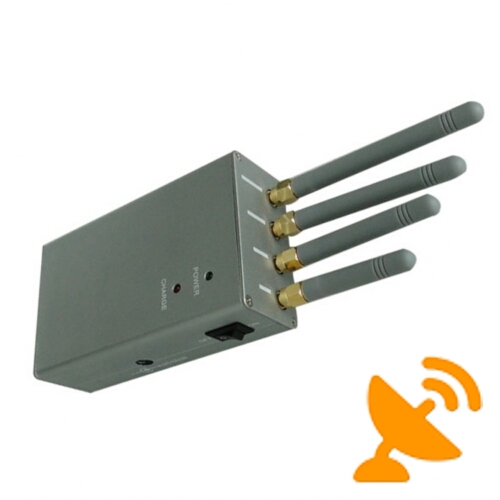 High Power Portable Cell Phone Signal Jammer Blocker - Click Image to Close