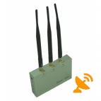 GSM CDMA 3G DCS PHS Cell Phone Jammer with Remote Control