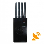 High Power 3G 4G Cell Phone Jammer with Cooling Fan
