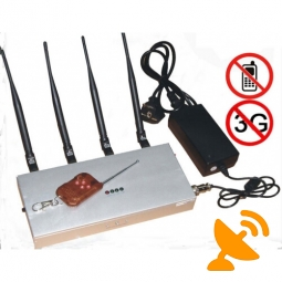 Remote Control 3G Mobile Phone Jammer
