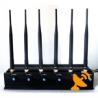 Adjustable Cell Phone Jammer + VHF UHF Walkie Talkie Jammer