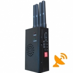 High Power Portable 3G GSM CDMA DCS PCS GPS Mobile Phone Jammer