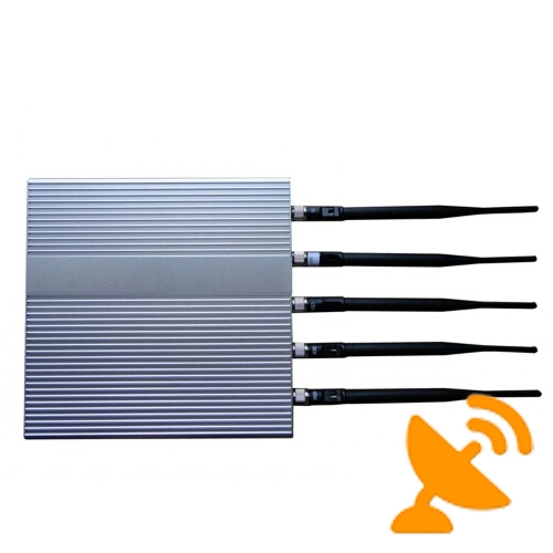 3G Mobile Phone Signal Jammer Blocker with Remote Control - Click Image to Close